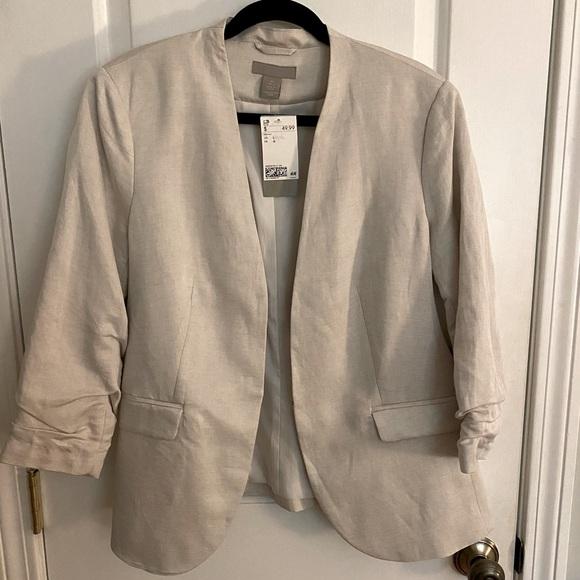 *NWT* H&M Blazer Size Large 3/4 Sleeves
